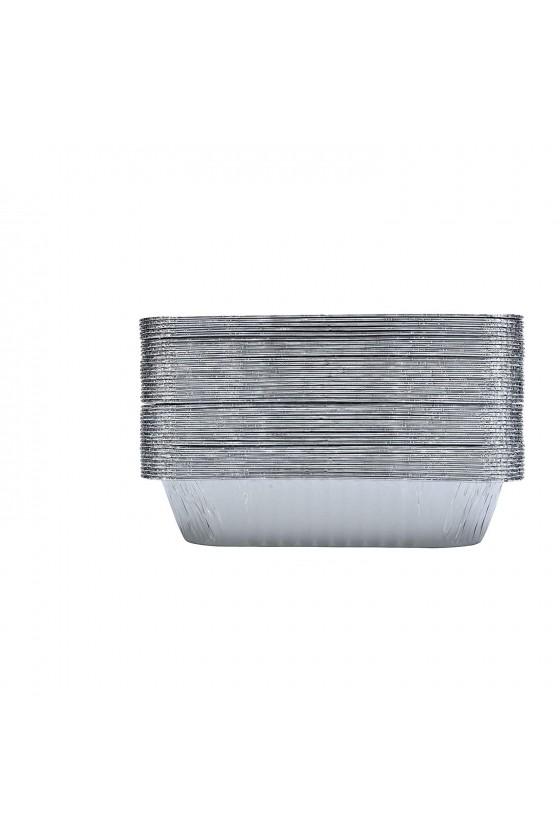 Envase de aluminio C-75 sin tapa