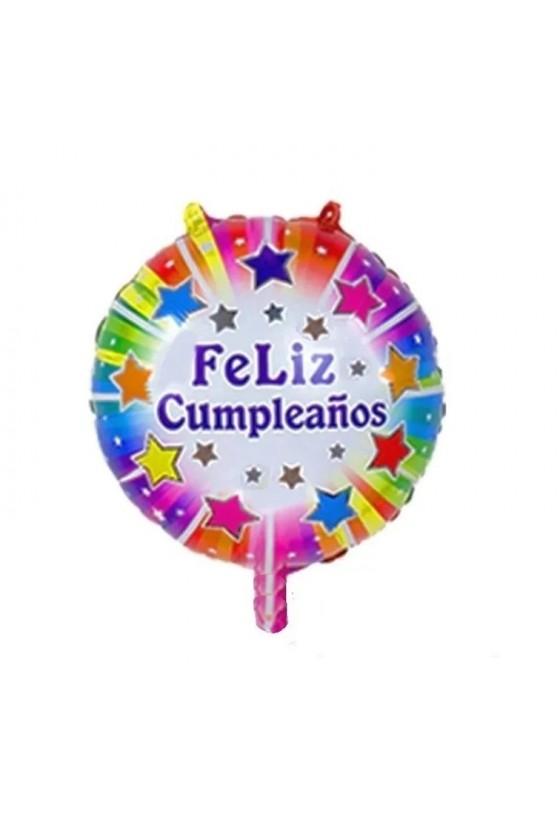 Globo de feliz cumpleaños...
