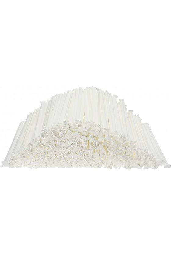 Bombillas de papel bicolor 300 unidades