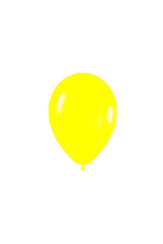 Globo color amarillo N°9