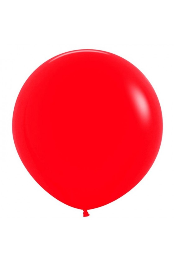 Globo color Rojo N°9