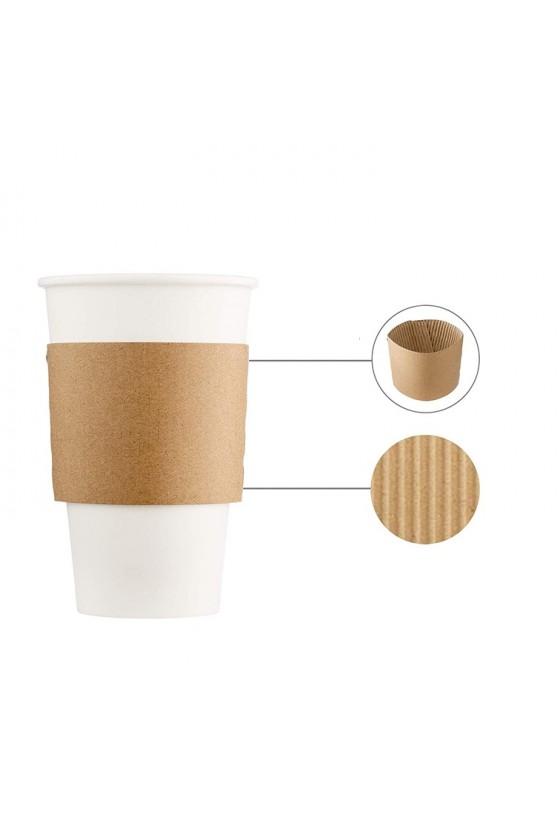 Cubre Vaso, Toma Vaso Biodegradable 12 / 20 OZ