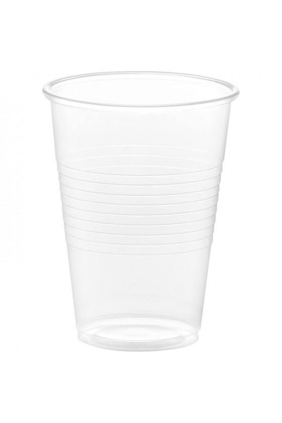 Vaso plástico transparente...