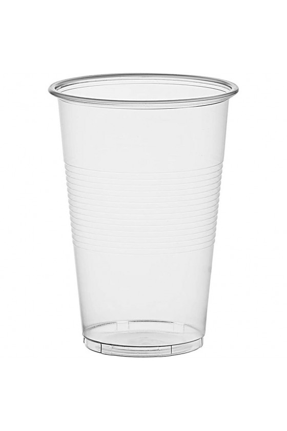 Vaso transparente 500 cc sin tapa