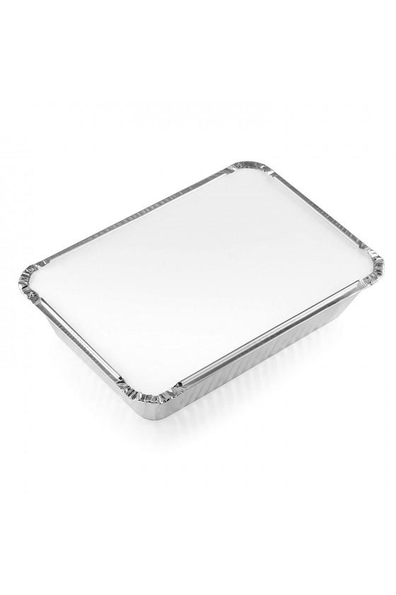 Envase de aluminio C-20 con tapa termolaminada