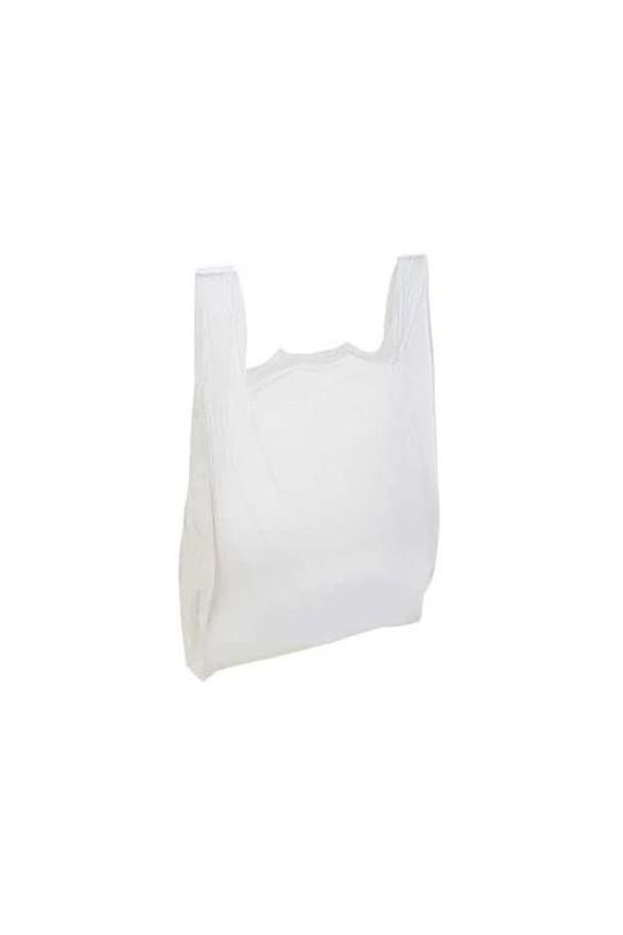 Bolsa camiseta blanca 50x60