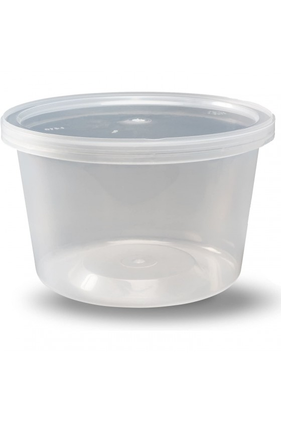 Contenedor transparente 24 oz