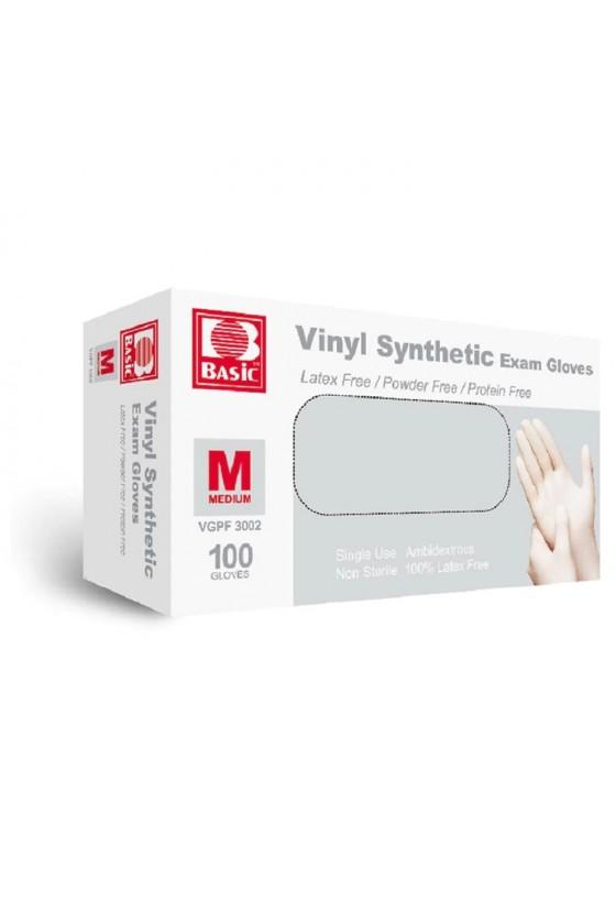 Caja de guantes vinilo M