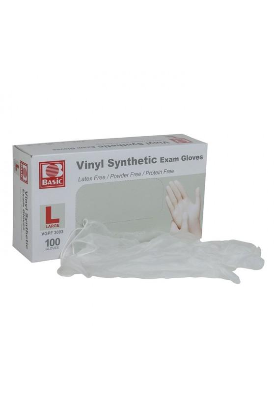 Caja de guantes vinilo L