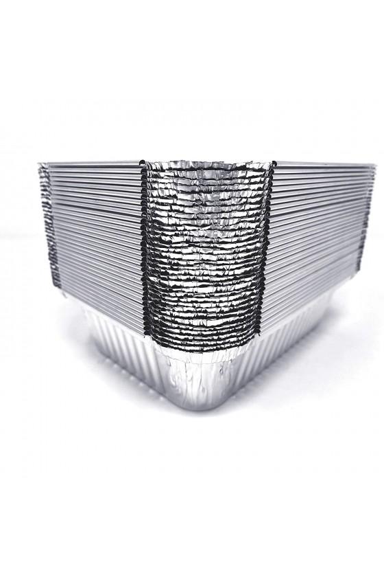 Envase de Aluminio C-30 Con Tapa Termolaminada
