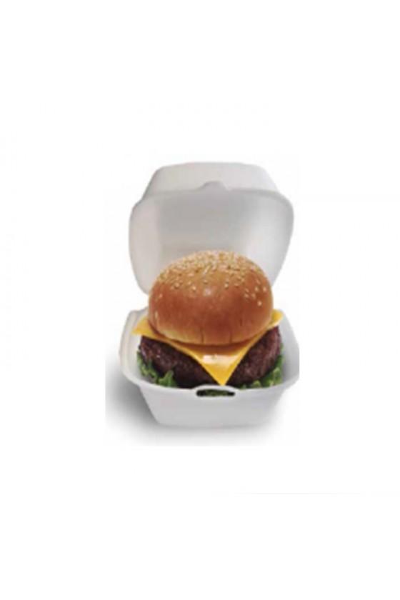 Envase hamburguesa plumavit