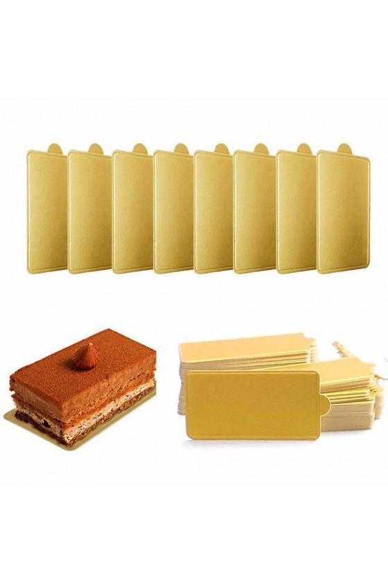 Base para postre rectangular