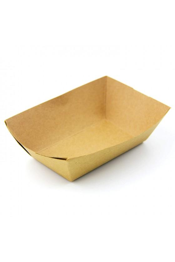 Bandeja de carton kraft N°100