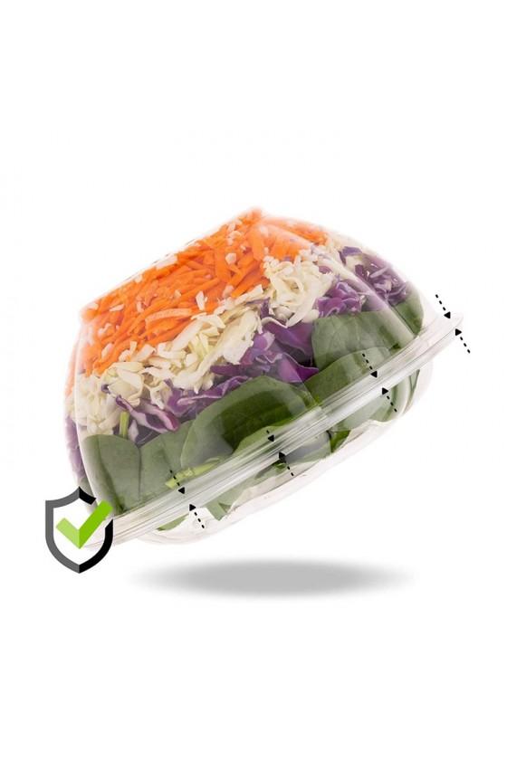 Bowl 32 oz plástico con tapa domo