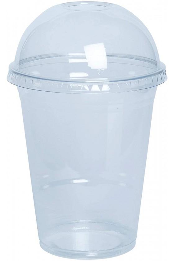Vaso plástico 16oz con tapa...