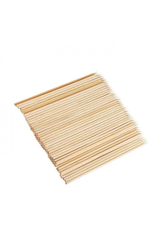 Brochetas de madera 15 cm