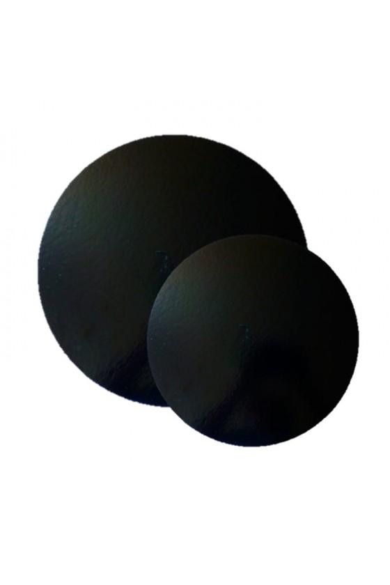 Disco para torta 26cm negro borde liso