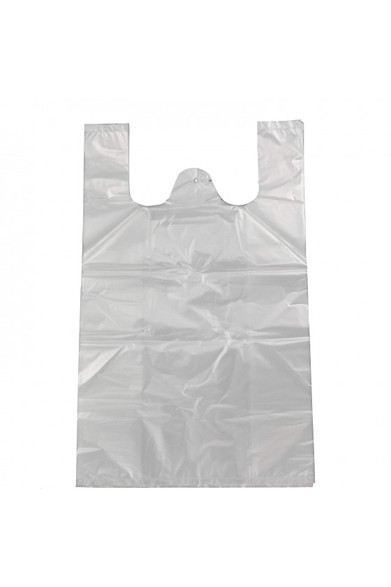 bolsa Camiseta blanca 40x50 cm