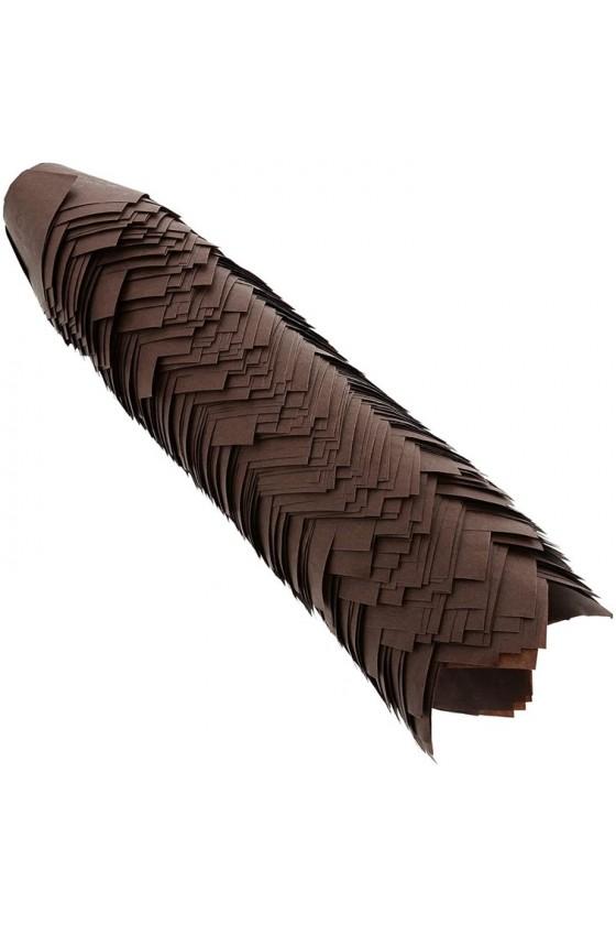 Tulipas para muffins color marrón