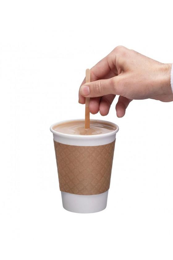 Mezclador de madera para café